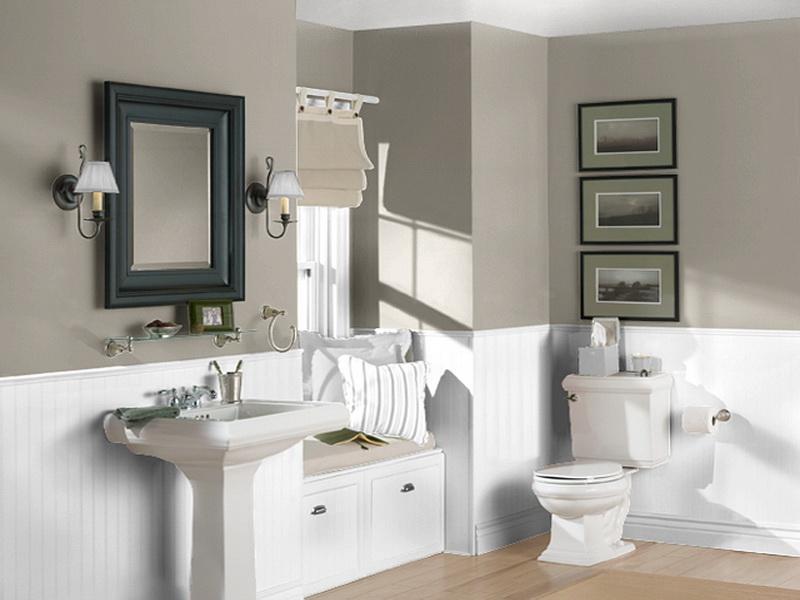 Brighten Up Your Bathroom Step 1 Choose A Paint Colour